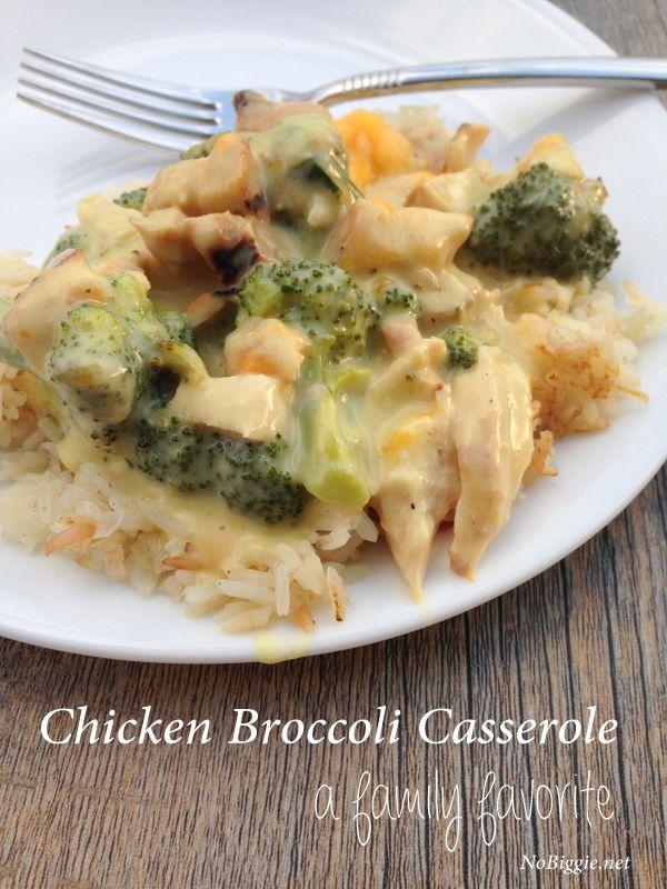 chicken broccoli casserole recipe - NoBiggie.net #recipe