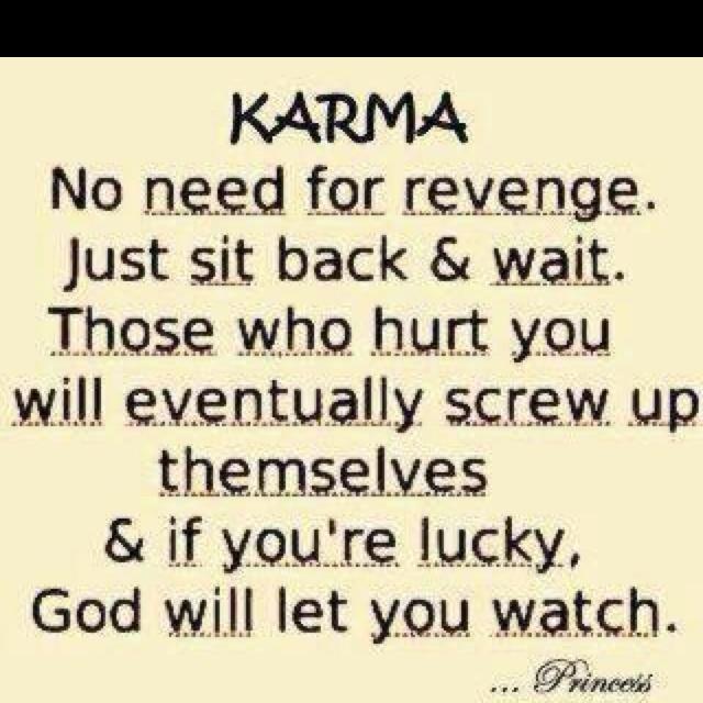 I Love Karma Quotes. QuotesGram