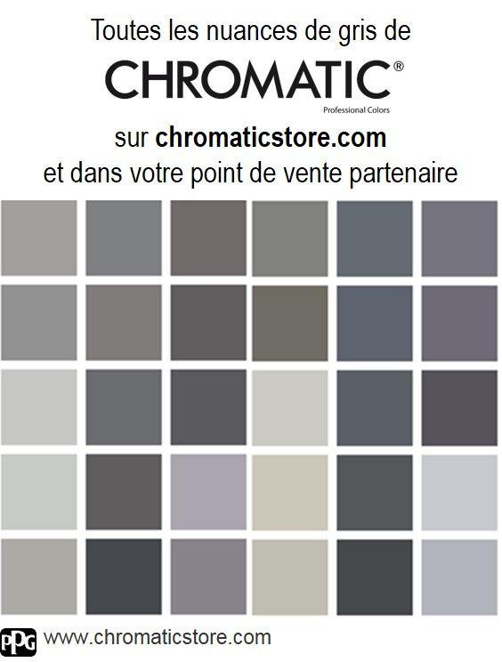 17 meilleures id es propos de palette de couleurs gris for Les differents gris en peinture