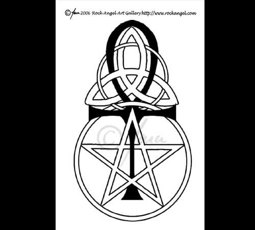 17 best images about wiccan pagan tattoo ideas on for Witch symbols tattoos