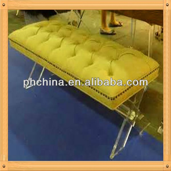 an b116 modern factory sell tapered table leglucite bench legtapered acrylic acrylic furniture legslucite table leghigh transparent