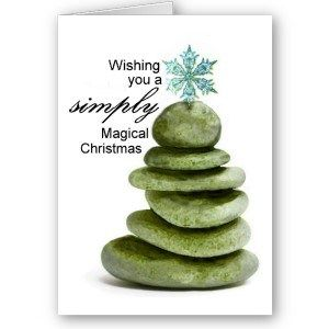 Zen Christmas Card --- Get 75% off until 10/12/2015 #Christmas2015