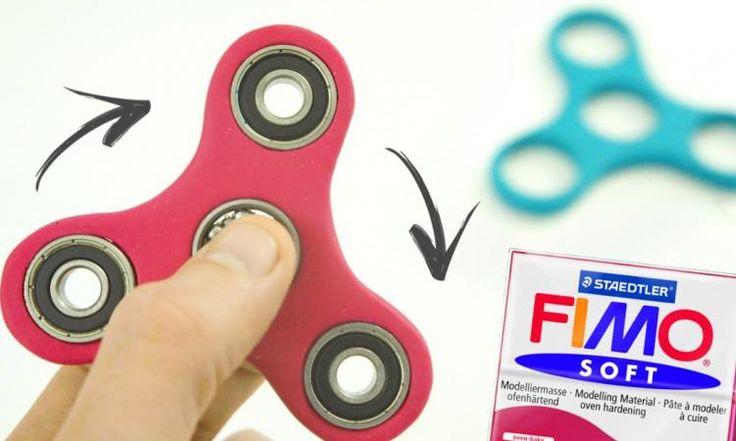 Comment fabriquer facilement un Hand Spinner avec de la pâte Fimo! Un patron gratuit!
