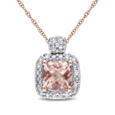 Zales Multi Semi-Precious Gemstone and 1/8 CT. T.w. Diamond Peacock Pendant in Sterling Silver and 14K Gold IM9AOZ