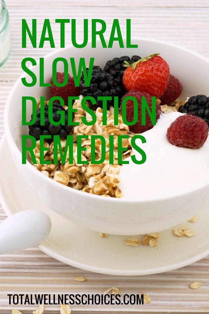 Banish sluggish digestive system with these natural slow