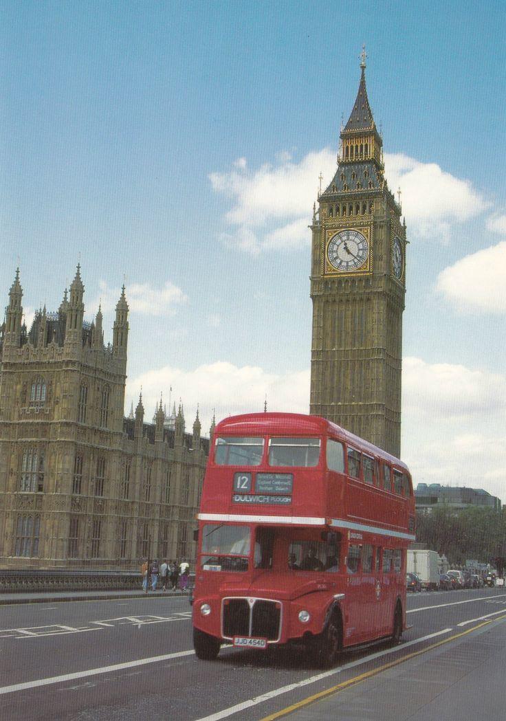 Big Beng, London (United Kingdom) - Postcard