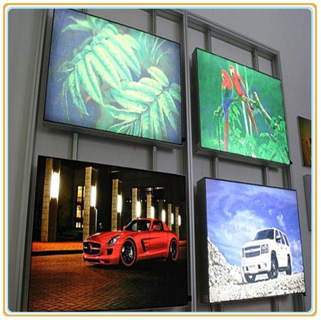 New Tension Aluminum Profile Fabric Display (A2). Led Light BoxFabric Display