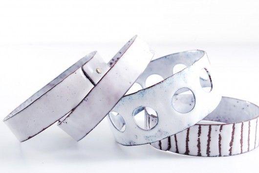 bracelets INDUSTRIAL enamel jewelry