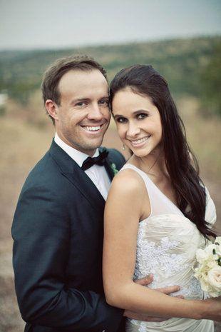 Nuwe FOTO'S: AB de Villiers en Danielle se trou-album Foto's: Tyme Photography