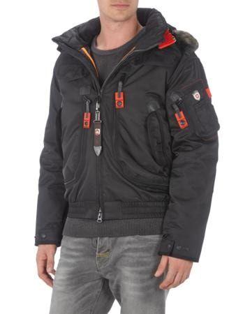 WELLENSTEYN Rescue Jacket 66 mit Kapuze in Schwarz   FASHION ID Online Shop