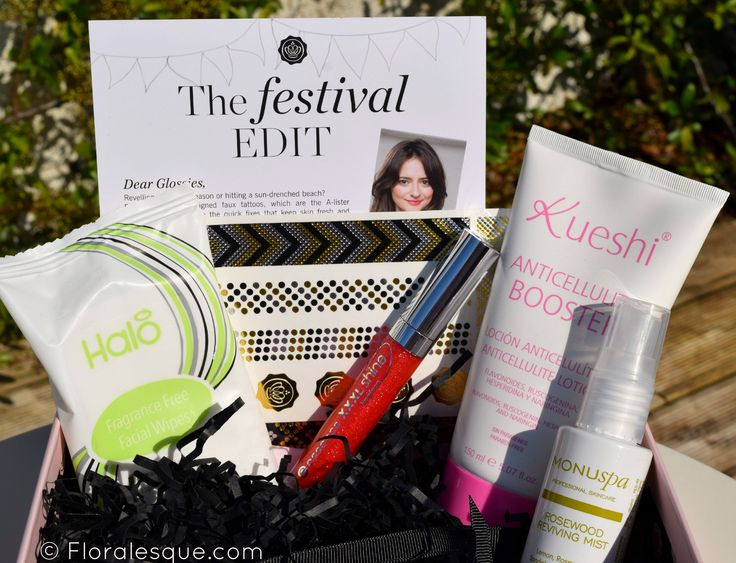 Glossybox Subscription Review June. Beauty box review. Beauty samples.