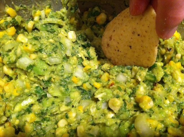 Grilled Corn Guacamole | YUM, Dips and Sauces! | Pinterest