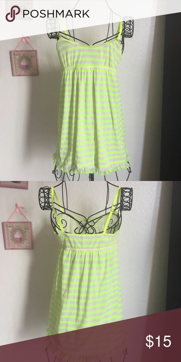 Juicy Couture Beach Dress Juicy Couture Neon Yellow Beach Dress Juicy Couture Dresses Mini