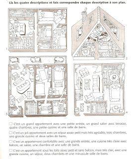 description d'appartements - français 1