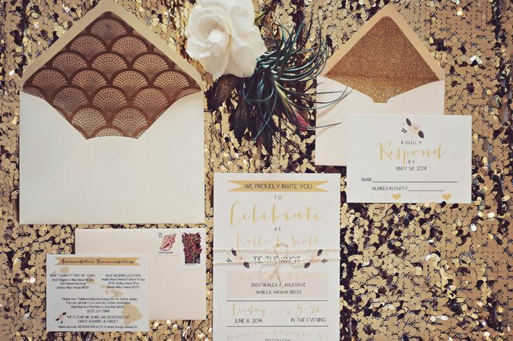 Invito per un Matrimonio anni '20  ispirato al Grande Gatsby | Great Gatsby Wedding inspiration Invitations | http://theproposalwedding.blogspot.it/  #gatsby #matrimonio #ispirazione  #thegretgatby #wedding #inspiration #theme #roaringtwenties #20s #stationery #invitations #inviti