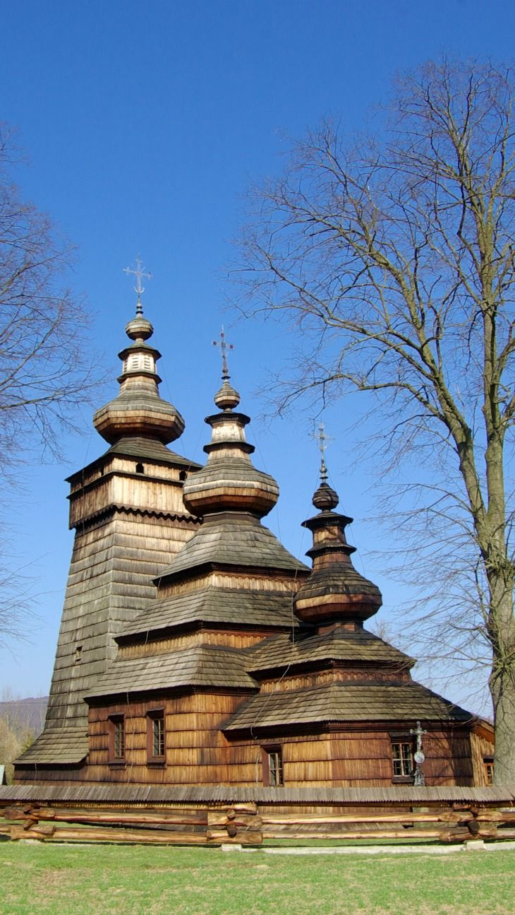 17 Best Images About Wooden Churches From Russia Ukraine Poland Romania Etc On Pinterest