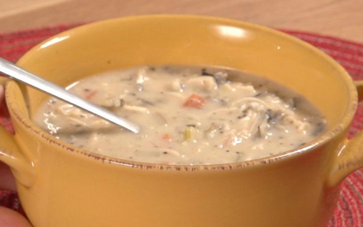 This warm creamy soul warming soup is so easy to make. Check out the video below: Follow us on Pinterest >> Tip Hero Creamy Chicken Wild Rice Soup - Crock pot Ingredients: ½ Cup uncooked wild rice ½ Cup uncooked basmati rice 1-½ lb. chicken...
