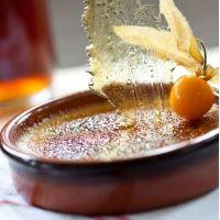 Crème brûlée au sirop d'érable