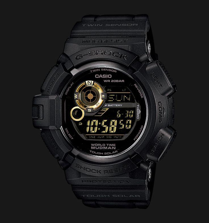 Beli jam tangan Casio G-Shock MUDMAN G-9300GB-1DR - Daftar Harga jam termurah, review, spesifikasi lengkap Indonesia di Jamtangan.com