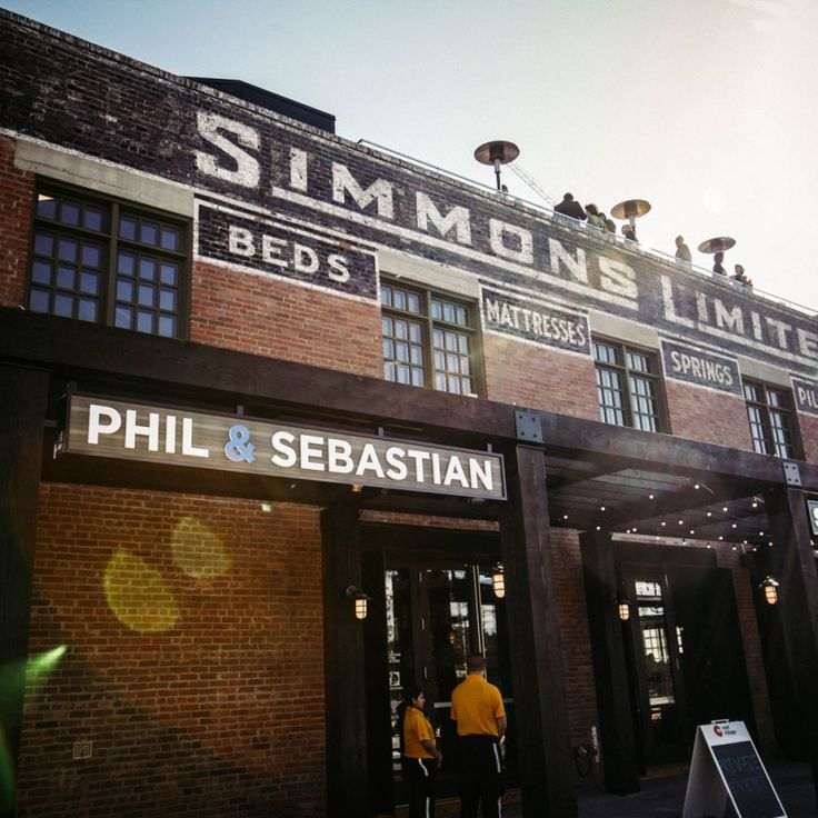 Simmons Building Coffee Shop - Phil & Sebastian Calgary