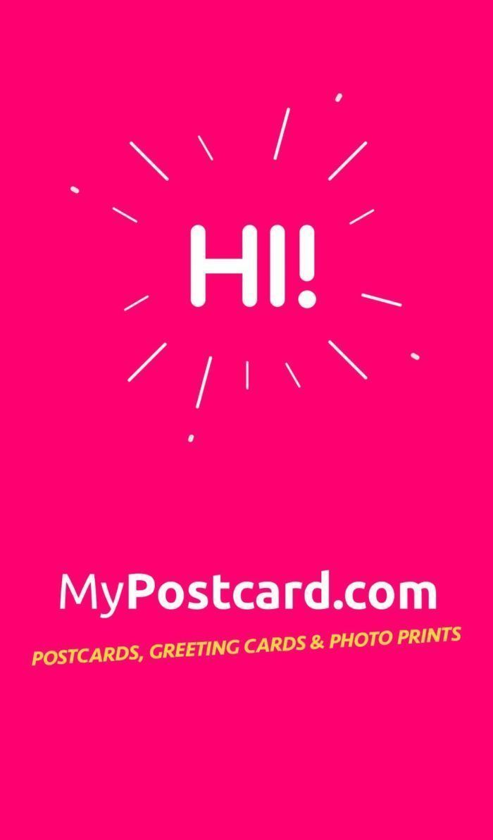 My Postcard: The Creative Way To Send Personalised Postcards