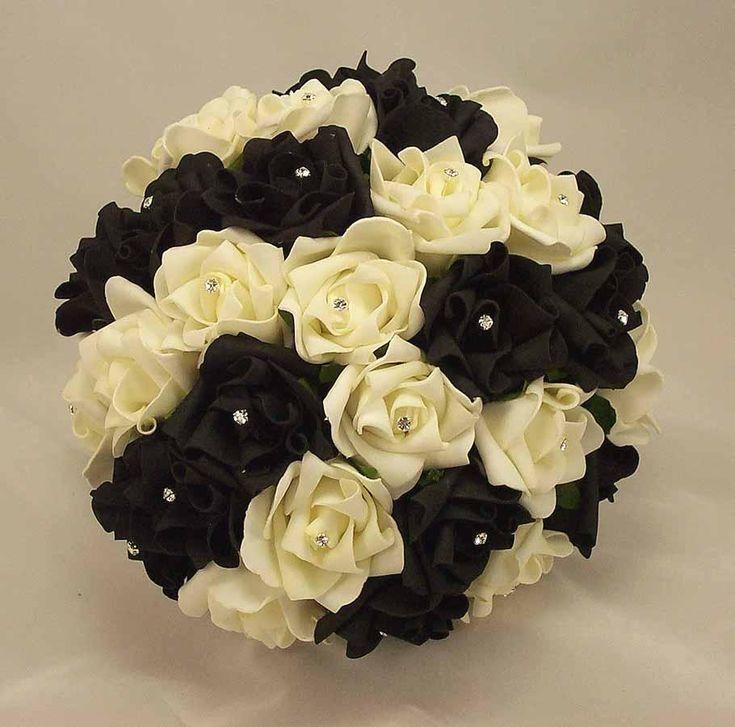 #black #white #modern #glamour #wedding