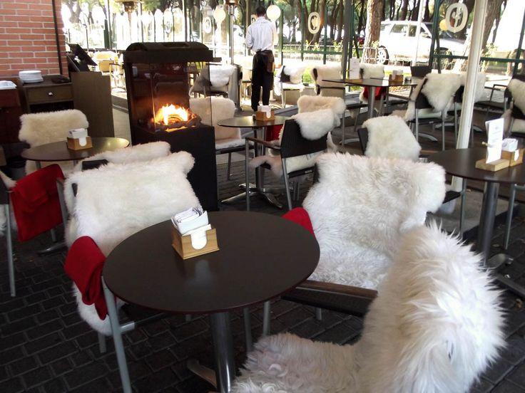 Café Pino (Madrid): la terraza más calentita de Madrid