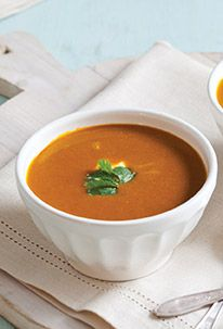 Curried Carrot-Coconut Soup | Food and Recipes | Pinterest