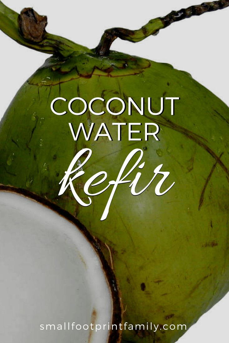 Coconut water kefir is a bubbly, delicious drink made from probiotic bacteria and healthy yeast that ferment the sugar in the coconut water. Here's how to make it!
