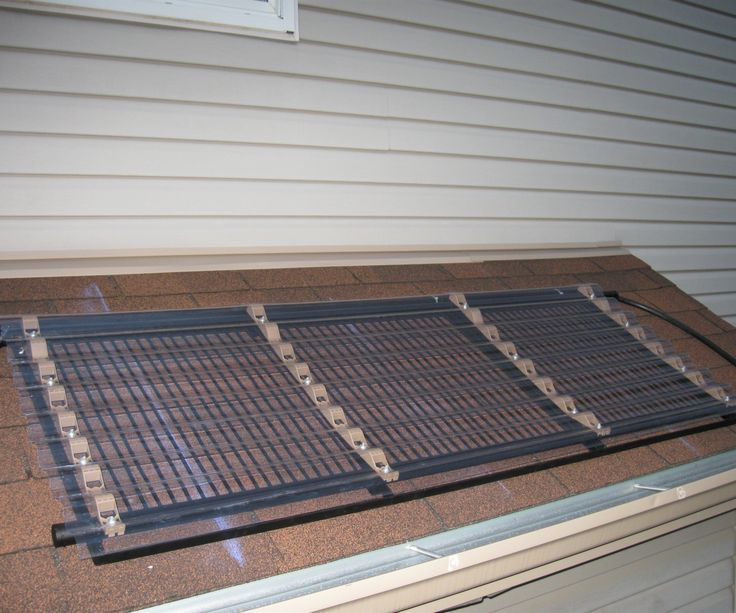 How to build a solar pool water heater.