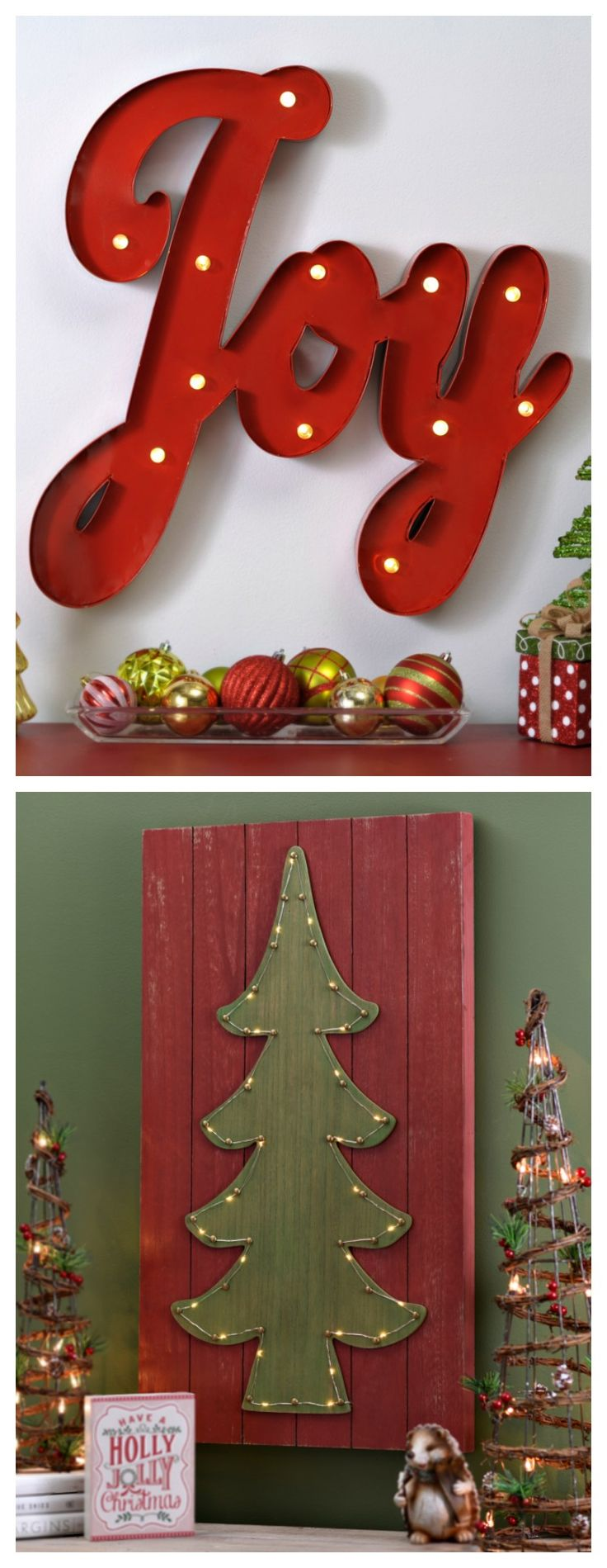 Christmas Decorations For The Wall 17 Best Images About Decorating For Christmas On Pinterest