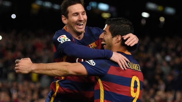 Was Lionel Messi's decision to pass a penalty to Luis Suarez to help him score a hat-trick for Barcelona a good or bad call?