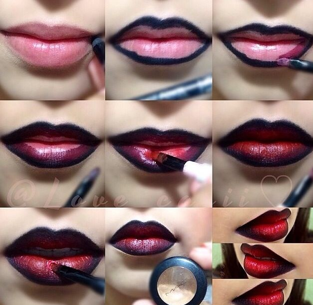 Ombre Lips Tutorials