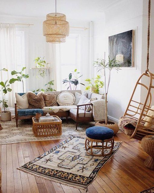 19 Boho Living Room Ideas