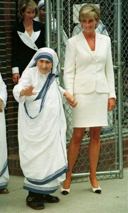In 1996 poll published by London DAILY MAIL, Princess Diana and Mother Teresa were voted in 1st and 2nd place as the world's most caring people. Both died in late summer of 1997 a week apart.