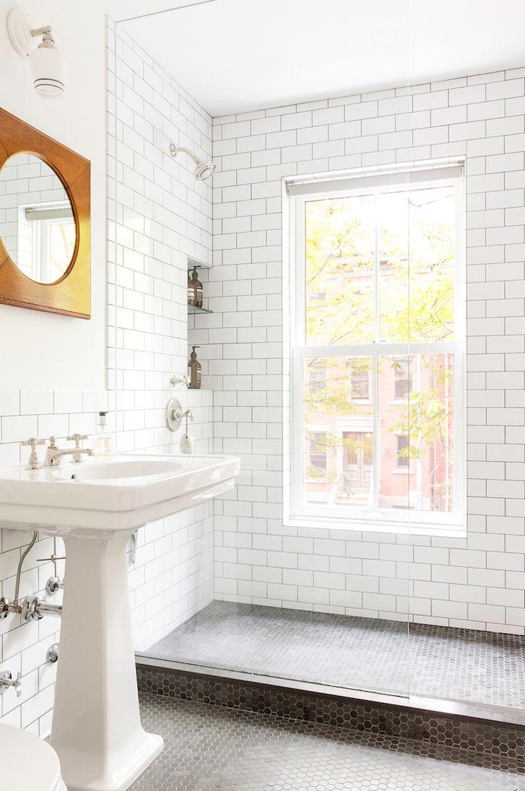 192 best interiors bathroom images on pinterest bathroom ideas renovated brooklyn townhouse elizabeth roberts dailygadgetfo Images
