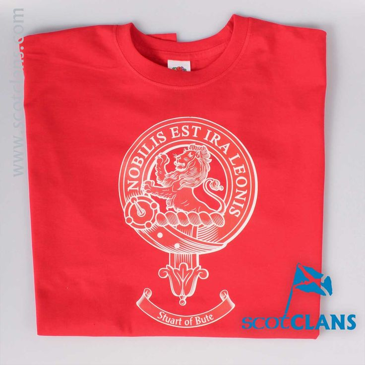 Stuart of Bute Clan Crest T Shirt