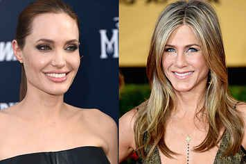 32 Times Jennifer Aniston And Angelina Jolie Definitely Weren't Thinking About Each Other