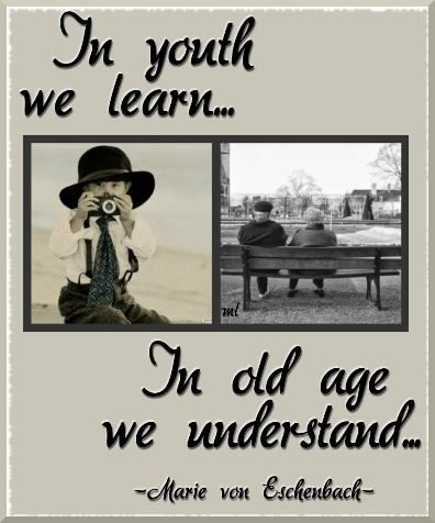 Youth and old age essay