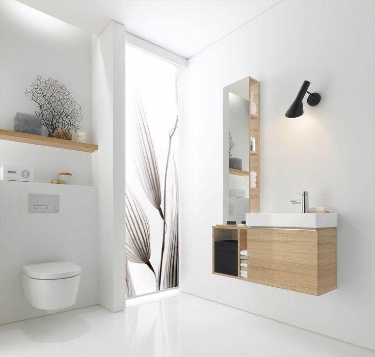 Wastafel voor de toiletruimte - Sphinx 345 xs #toilet #wastafel