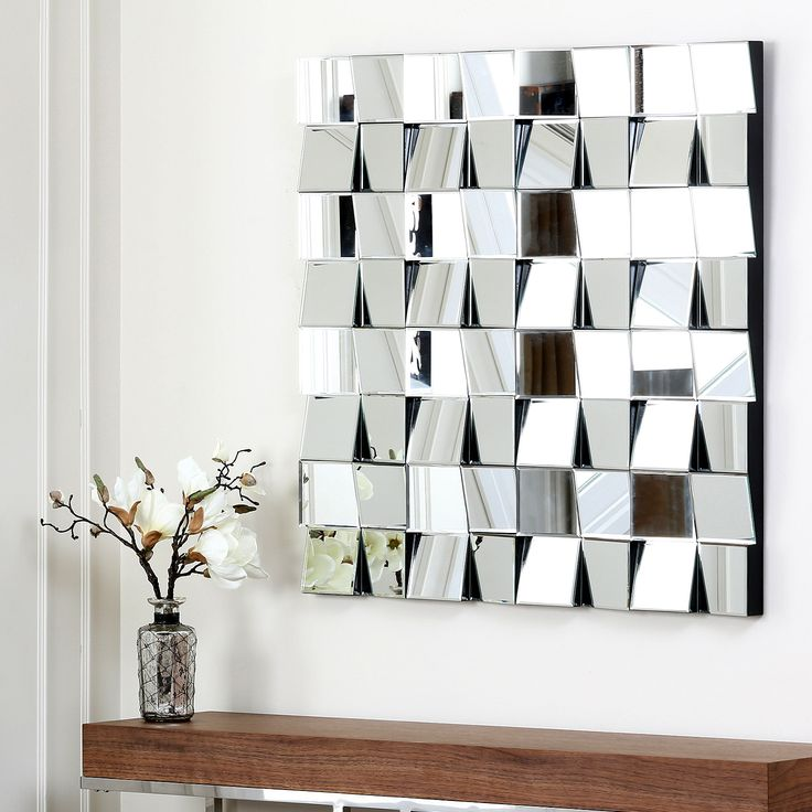 Abbyson Living Isabelle Wall Mirror. Contemporary MirrorsContemporary  DesignSquare MirrorsLiving Room ... Part 93