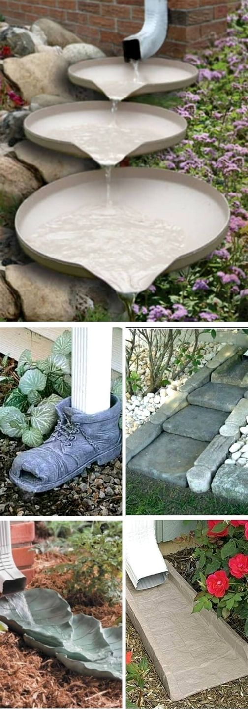 12+ Best Downspout Landscaping Ideas & Designs For