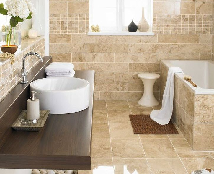 40 Beige Bathroom Wall Tiles Ideas And Pictures Marble Tile Bathroom Beige Bathroom Bathroom Floor Tiles