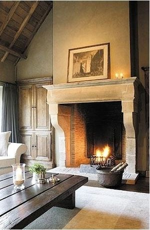 Fireplaces can really make a design statement in a house and reinforce a  certain style or look. And some of them, ones with oversized fireb...