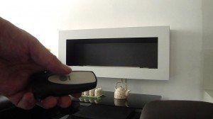 Caminetto bio etanolo telecomandato AFIRE design http://www.a-fireplace.com/it/caminetti-bioetanolo/