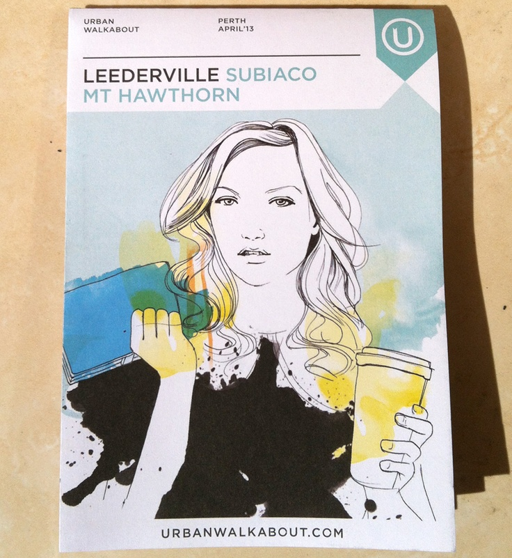 new Urban Walkabout guide is out :) #leederville #subiaco #mthawthorn #paigehabermann #uwperth #urbanwalkabout #mekel