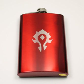 Warcraft Horde Flask