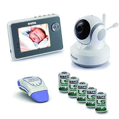 Snuza Trio Plus Baby Monitor System Movement Tracking