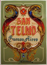 Fileteado Porteño - San Telmo - Buenos Aires