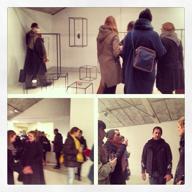 Camille Luihn's exhibition opens at Ram Gallery #ftcc by Norwegiancrafts, via Flickr